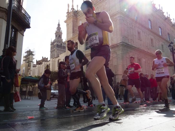 Maratón ciudad de Sevilla