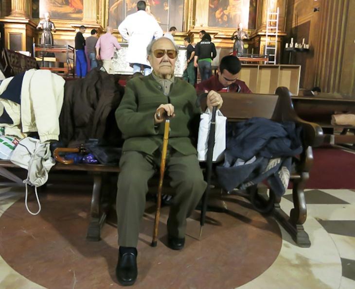 El nazareno más antiguo de Sevilla