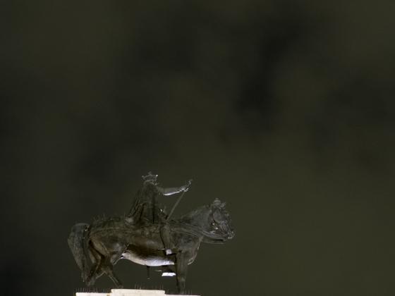 Estatua del Rey San Fernando.