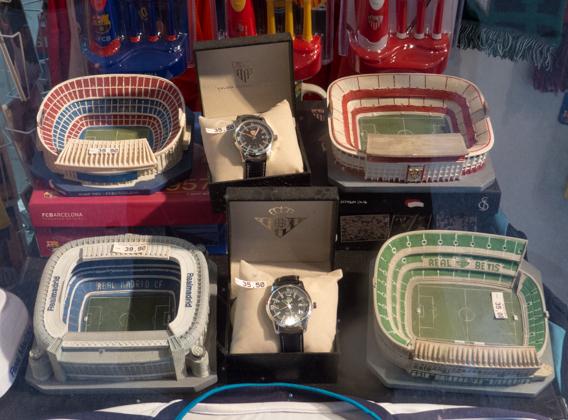Maqueta de estadios de fútbol