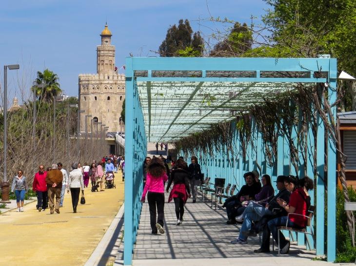 Muelle de Nueva York, Sevilla