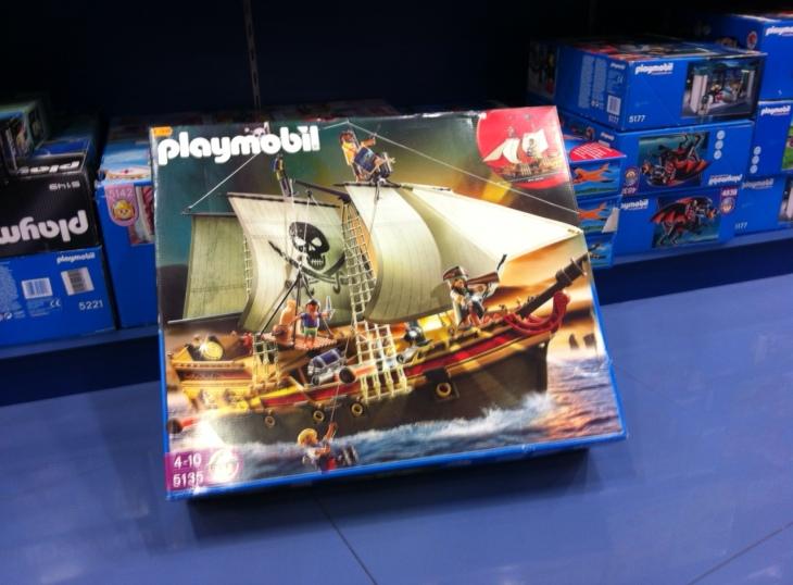 Playmobil y mi hijo
