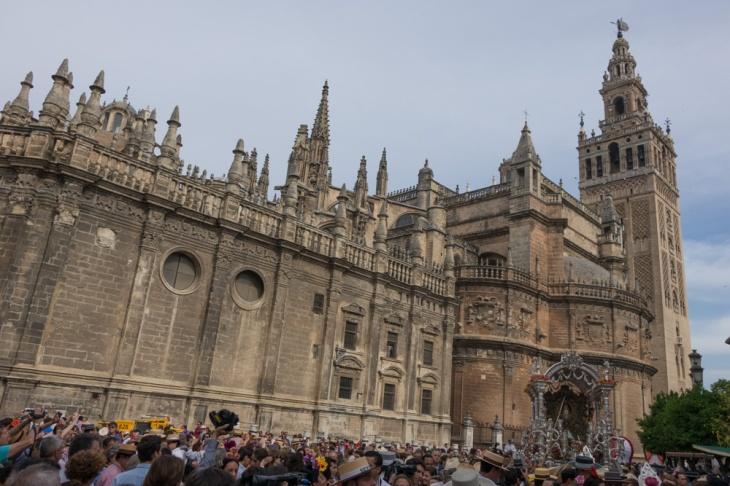 Salida de Sevilla