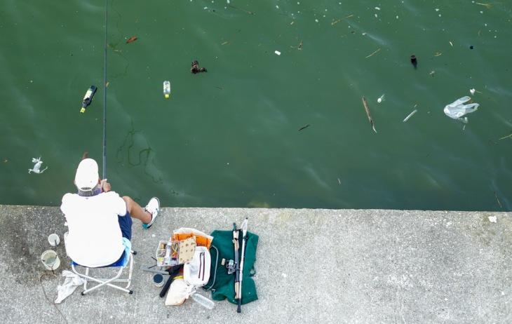 Pescando suciedad