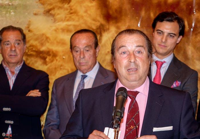 Agustin Arjona, Joaquín, Curro Romero, Paco Ojeda. /EduardoBriones